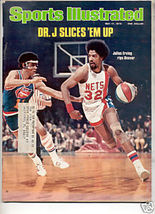 * 1976 SPORTS ILLUSTRATED NETS DR J KULIUS ERVING - $9.09