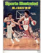 * 1976 SPORTS ILLUSTRATED NETS DR J KULIUS ERVING - $9.09