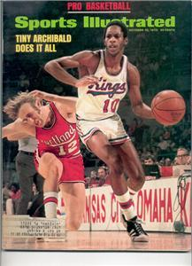 SPORTS ILLUSTRATED OCT 15 1973 TINY ARCHIBALD KINGS