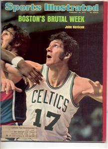 SPORTS ILLUSTRATED FEB 1974 JOHN HAVLICEK CELTICS
