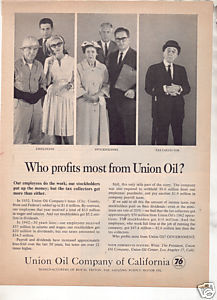 * 1963 UNION OIL COMPANY OF CALIFORNIA AD UNION 76