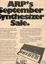 1975 ARP SYNTHESIZER AD - $8.99