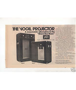 1974 PEAVEY 215HT 115HT VOCAL PROJECTOR SYSTEM AD - $8.99