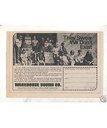 1973 VINTAGE WAREHOUSE SOUND COMPANY AD - $7.64