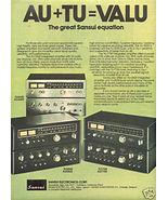 1976 SANSUI TU 7700 TU 5500 TU 4400 RECEIVER AD - $8.99