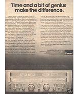 1978 SANSUI G-6000 DC RECEIVER AD - $8.99