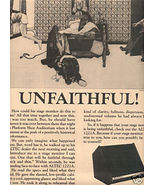 1975 ALTEC 1221A STAGE MONITOR AD UNFAITHFUL - $8.99