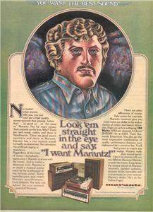 1977 MARANTZ RECEIVER STEREO AD