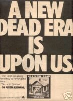 GRATEFUL DEAD LP PROMO AD TERRAPIN STATION 1977