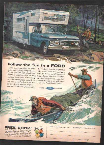 1964 FORD PICKUP AD