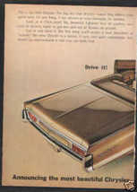 1965 CHRYSLER NEWPORT AD 2=PAGE - $10.99