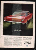 1965 FORD GALAXIE 500 AD - $8.99
