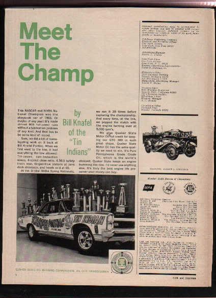 1966 PONTIAC GTO AD