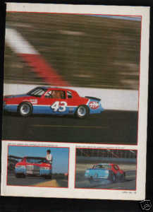 RICHARD PETTY TRACK TEST ROAD TEST 6-PAGE AD