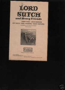 LORD SUTCH PROMO AD JIMMY PAGE
