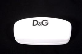 Dolce & Gabbana White Leather Hard Sunglass / Eye glass Case - $18.25
