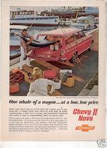1962 NOVA WAGON AD - $9.99
