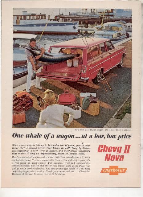 1962 NOVA WAGON AD