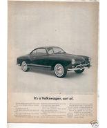 1962 VOLKSWAGEN AD - $8.99