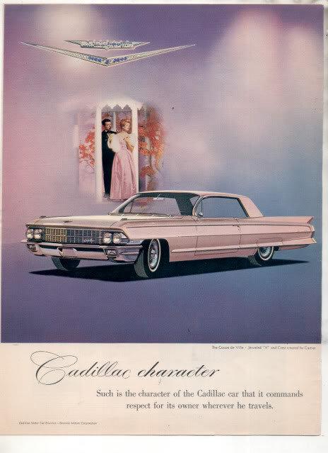 1962 CADILLAC AD