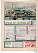 1962 DART AD - $8.99