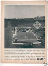 1962 VALIANT AD - $8.99