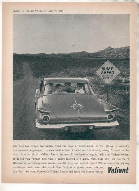 1962 VALIANT AD