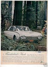1962 THUNDERBIRD AD - $9.99