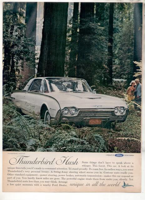 1962 THUNDERBIRD AD