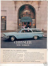 1962 NEW YORKER AD - $9.99