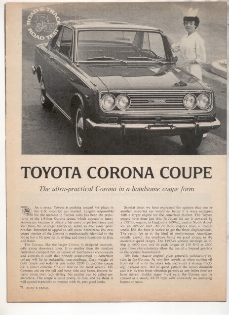 Toyotacoronacouperoadtest1967page1