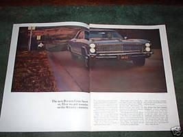 1965  BUICK RIVIERA GRAN SPORT VINTAGE CAR AD - $8.49