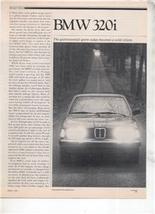 1980 BMW 320i 320 i ROAD TEST AD 5-PAGE - $8.99