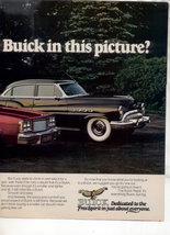 1976 BUICK REGAL VINTAGE CAR AD 2-PAGE - $8.49