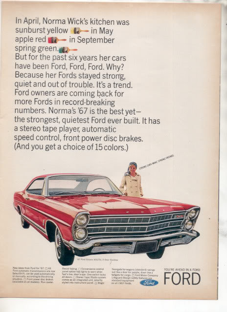 Fordgalaxie500redwithpaintbrushes