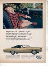 1967 Ford Ltd Vintage Car Ad - $8.99
