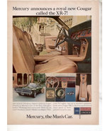 1967 1968 MERCURY COUGAR VINTAGE CAR AD - $7.99