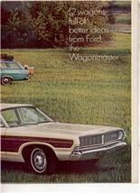 1968 FORD TORINO WAGON FALCON FUTURA WAGON CAR AD 4-PG - $13.99