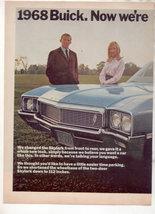 1968 Buick Skylark Vintage Car Ad 2-PAGE - $8.99
