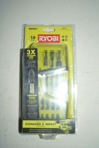 Ryobi AR2021 Impact Driving Kit 18-PC 2 in. impact driving bits feature Torsion - $14.84