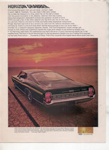 1968 Ford Xl Fastback Vintage Car Ad - $7.99