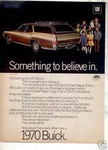1970 BUICK ESTATE WAGON CAR AD - $8.99