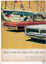 1962 CATALINA BONNEVILLE CAR AD - $9.24