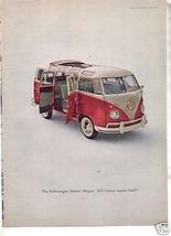 1960 VOLKWAGEN PRINT AD - $8.99