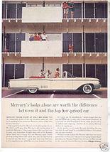1960 MERCURY PARK LANE AD - $9.99