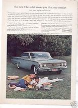 1960 CHEVY IMPALA BEL AIR AD - $9.99
