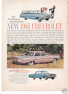 1961 CHEVY BISCAYNE AD