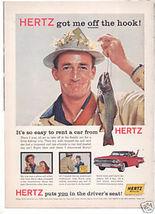 HERTZ RENT A CAR AD IMPALA - $9.99