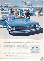 1960 PONTIAC BONNEVILLE AD - $9.99