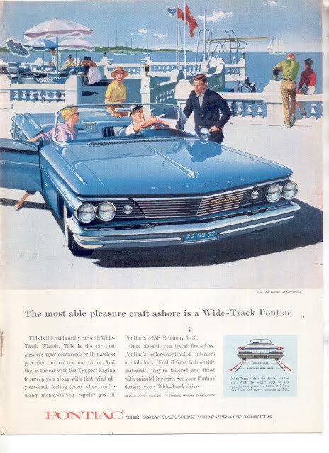 1960 PONTIAC BONNEVILLE AD